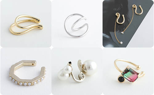 【可愛いイヤカフ、発見♥】春は目前!耳元からオシャレを作るオススメの「イヤカフ」10選 Staff nori's blog